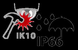 استاندارد های IP66 و IK10